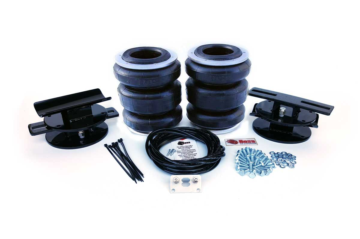 Universal Air Suspension rear kit triple airbag